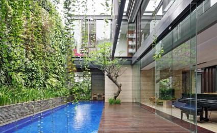 BEN HOUSE: Thiết kế hòa mình vào thiên nhiên
