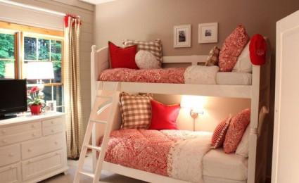 Thiết kế giường tầng độc đáo cho bé