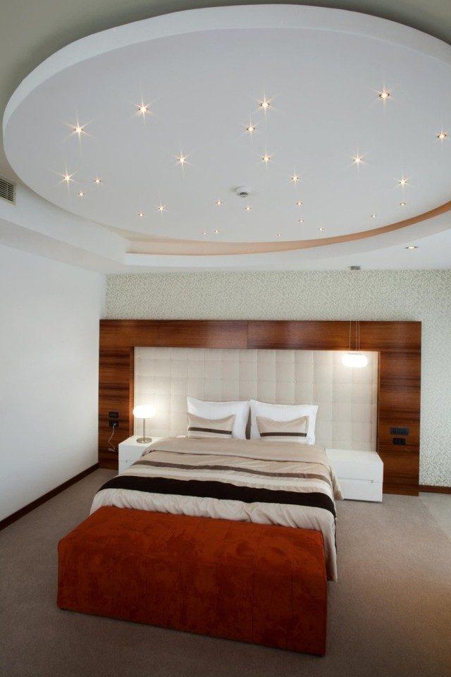 5img20150905104213655 Phá cách cho phòng ngủ với trần thạch cao qpdesign