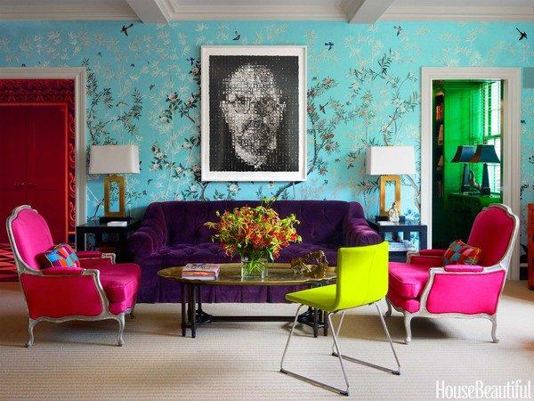 62 Nổi bật với ý tưởng màu neon cho phòng khách qpdesign