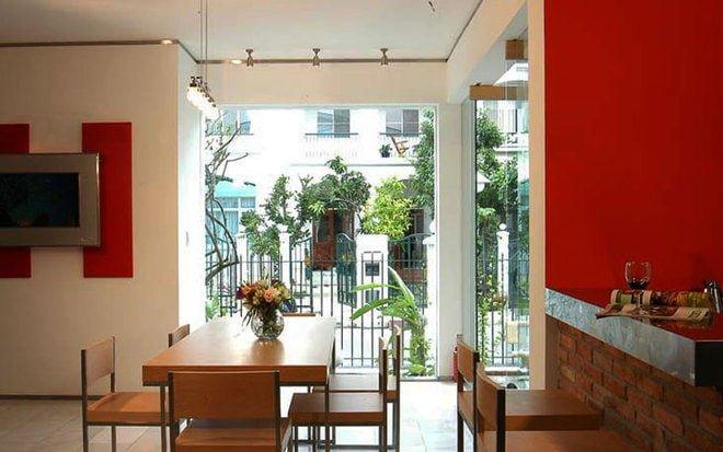 7 1417402933 660x0 Biệt thự tràn đầy ánh sáng với thiết kế mở tại Sài Gòn qpdesign
