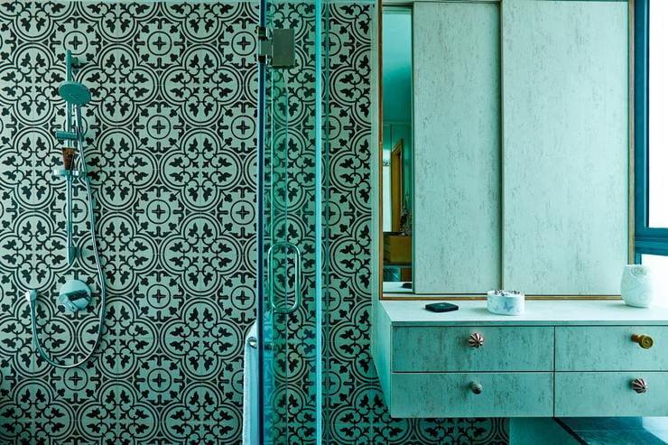 Hiện đại và ấm cúng với căn hộ có thiết kế màu gỗ