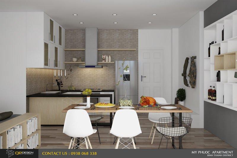 85 Thiết kế nội thất căn hộ chung cư Mỹ Phước 85m2 qpdesign