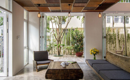 Xanh mát với kiến trúc biệt thự vườn Tùng