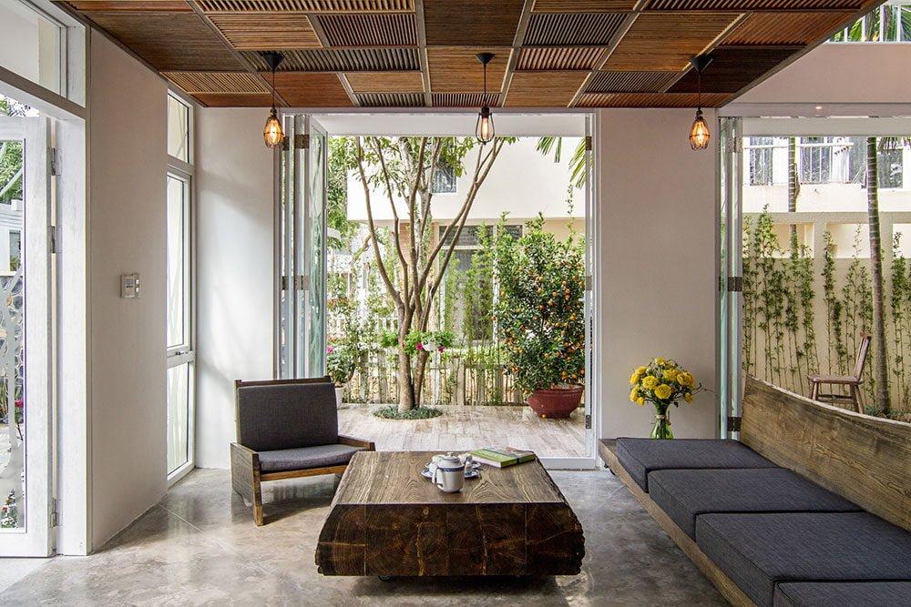 94 resize Xanh mát với kiến trúc biệt thự vườn Tùng qpdesign