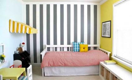 Cách giúp phòng ngủ trần thấp không còn bí bách