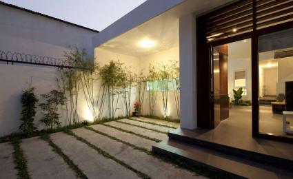 Nhà phố hai tầng với thiết kế mở tuyệt đẹp tại Sài Gòn