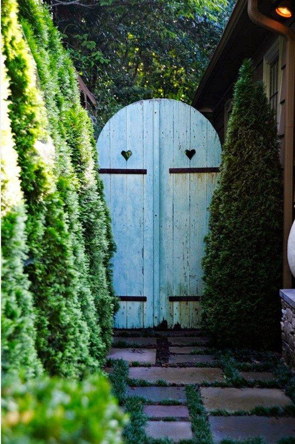 Vườn nhà thêm xinh xắn với thiết kế cổng vườn ấn tượng