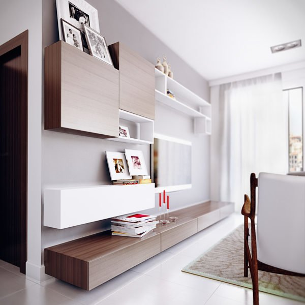 sleek-wall-shelving