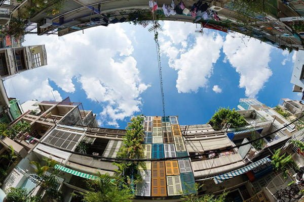 vegan house 2201506271745502877 Vegan House Nhà Sài Gòn cũ được cải tạo đầy sắc màu lên báo Mỹ qpdesign