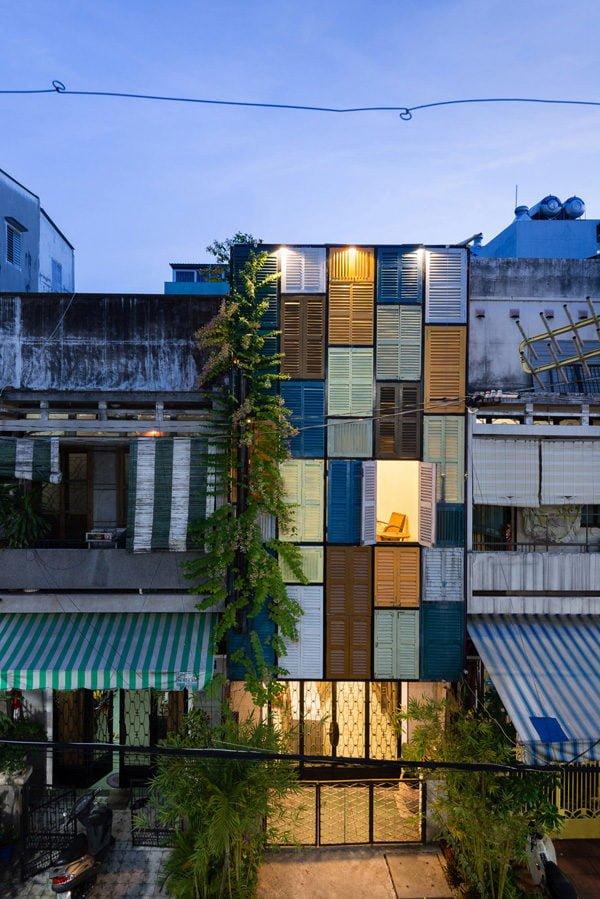 vegan house 3201506271745301556 Vegan House Nhà Sài Gòn cũ được cải tạo đầy sắc màu lên báo Mỹ qpdesign