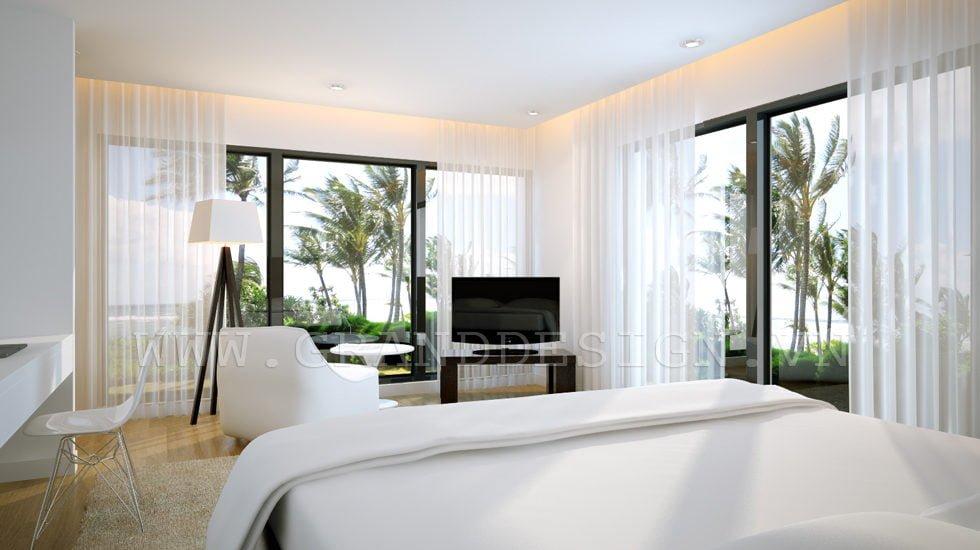 11Vietnam bedroom Biệt thự biển Nha Trang, Khánh Hòa qpdesign