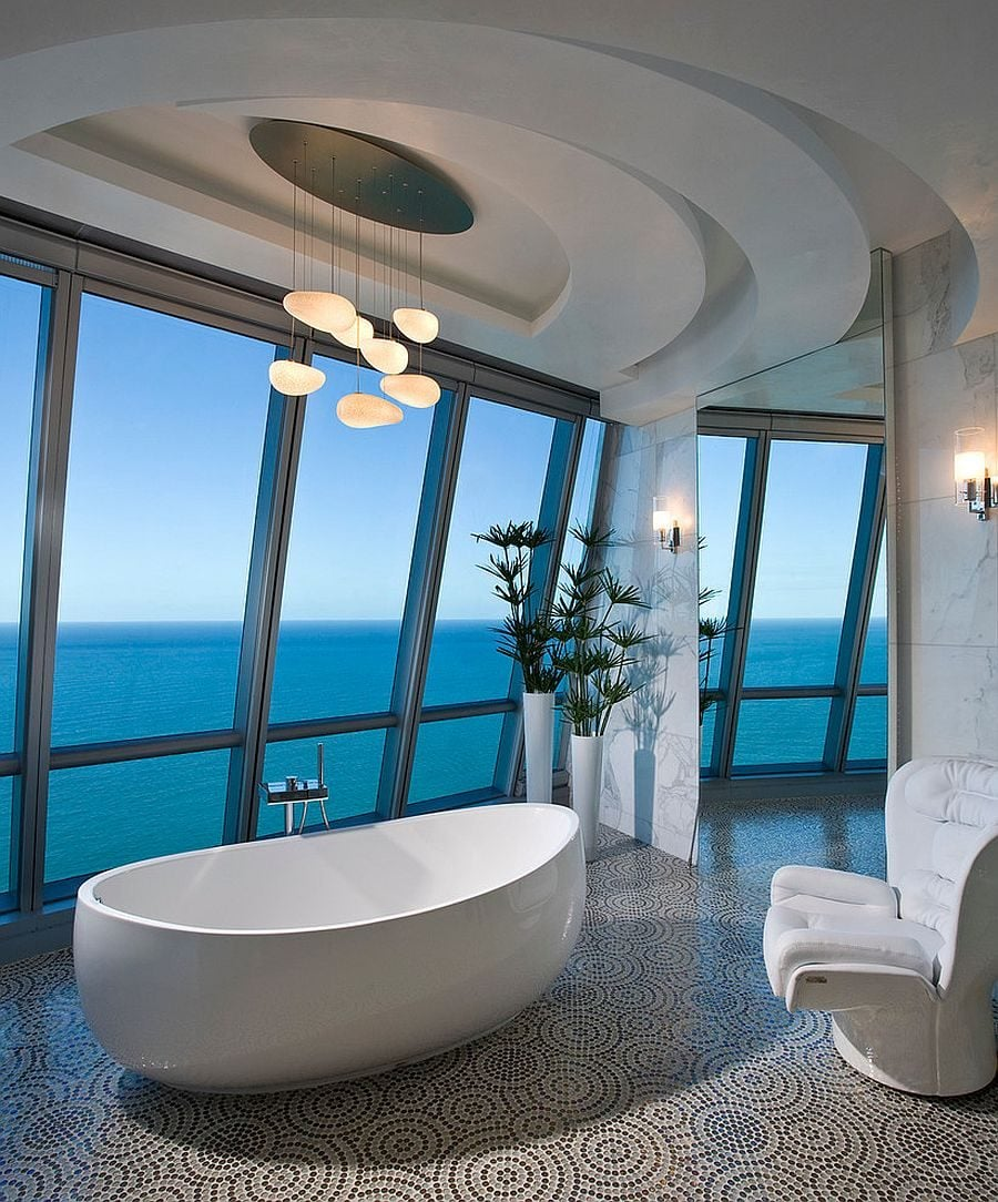 13Luxurious-contemporary-bathroom-of-posh-Miami-residence-with-ocean-view