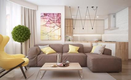 Hai mẫu nội thất với phong cách đơn giản hiện đại
