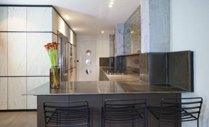 Cải tạo thành căn hộ hiện đại từ kho của studio cũ