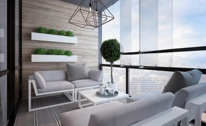 Nội thất căn hộ với màu sắc nhẹ nhàng của gỗ