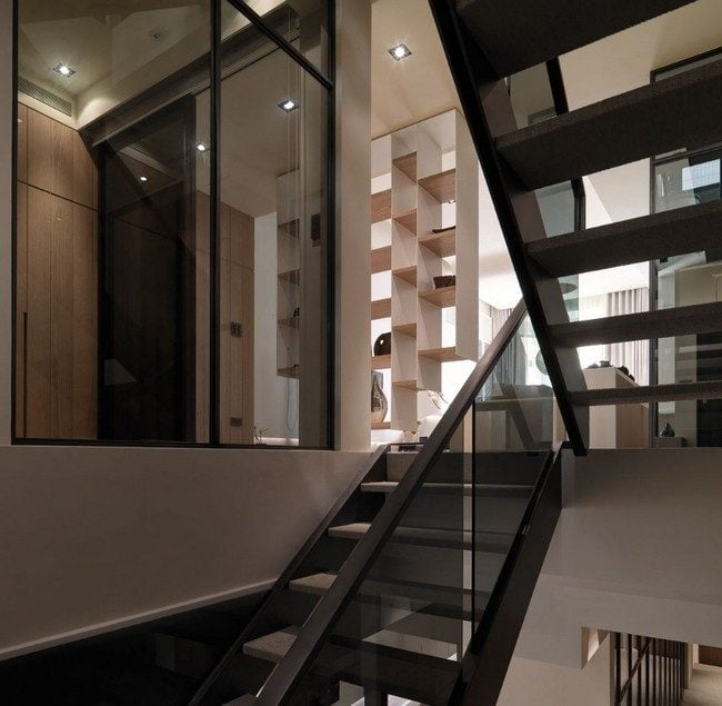 15Multi-Level-Contemporary-Apartment-in-Taiwan-15