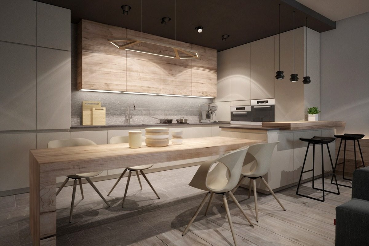 19modern-kitchen-with-light-wood