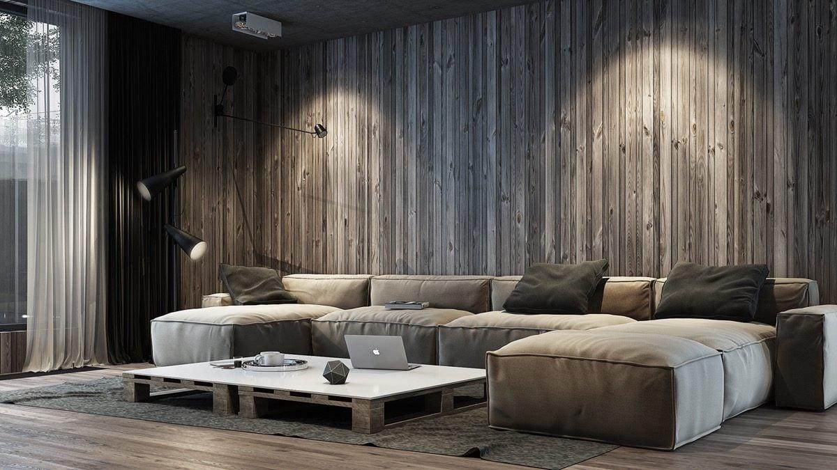 19vertical wood wall panels Kết cấu hoàn hảo cho những bức tường phòng khách qpdesign