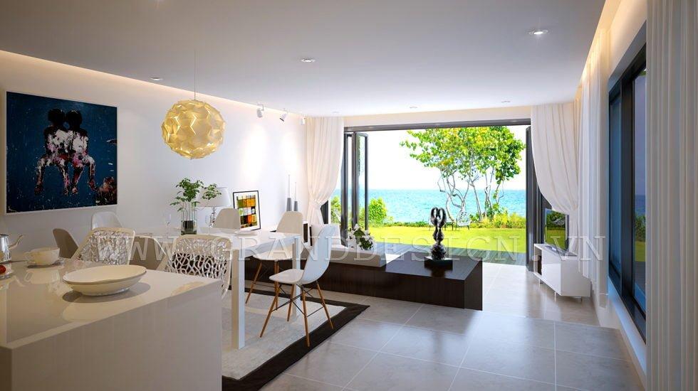 1Neutral apartment Biệt thự biển Nha Trang, Khánh Hòa qpdesign
