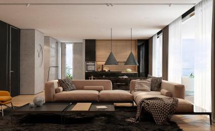 Phong cách 2 căn hộ: Mềm mại và Trơn bóng
