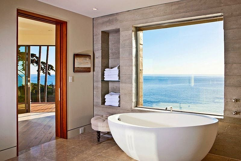 2Industrial-style-bathroom-of-LA-home-with-ocean-view
