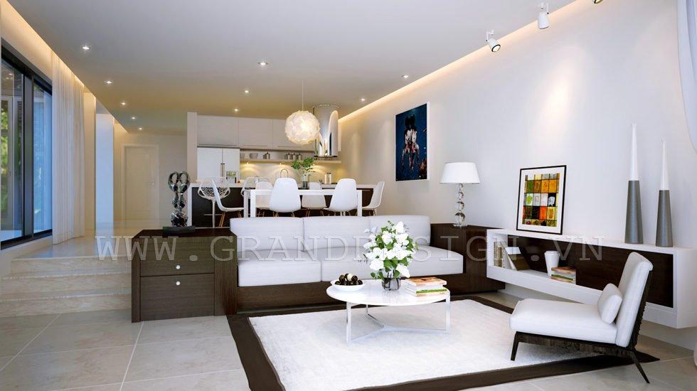 3Open plan apartment Biệt thự biển Nha Trang, Khánh Hòa qpdesign