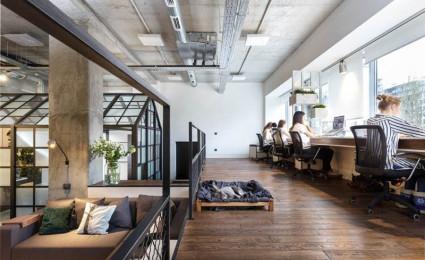 Nội thất văn phòng của văn phòng thiết kế nội thất