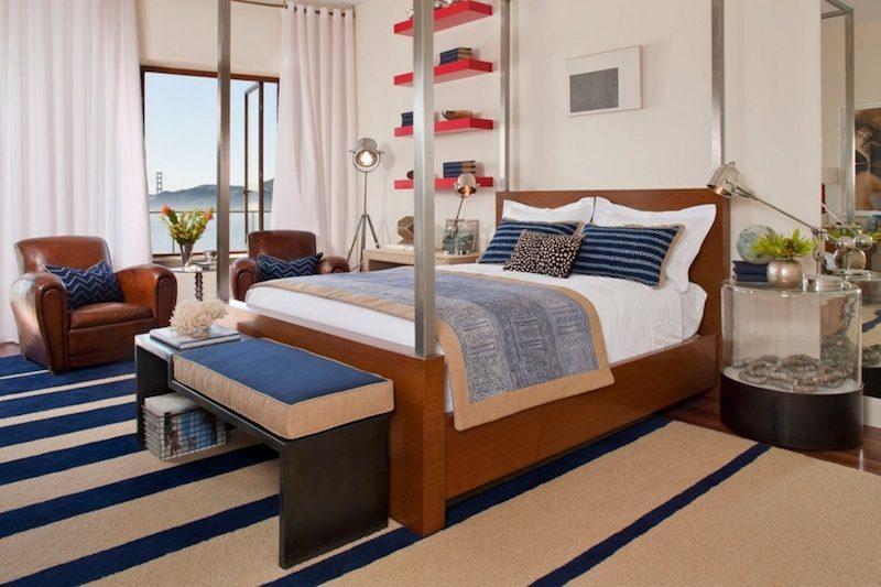 3rug textile1 Ý tưởng biến phòng ngủ gia chủ thêm tiện nghi và cá tính qpdesign