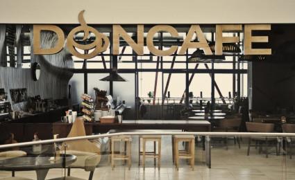 Phong cách hiện đại trong thiết kế Don Café House