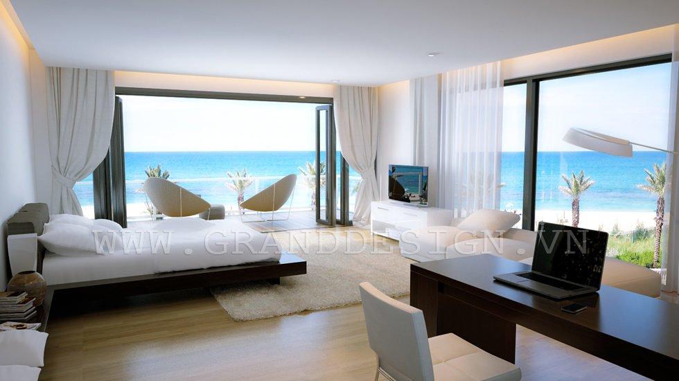 4Panoramic view bedroom Biệt thự biển Nha Trang, Khánh Hòa qpdesign