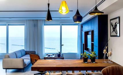 Thiết kế căn hộ theo xu hướng tông màu tối