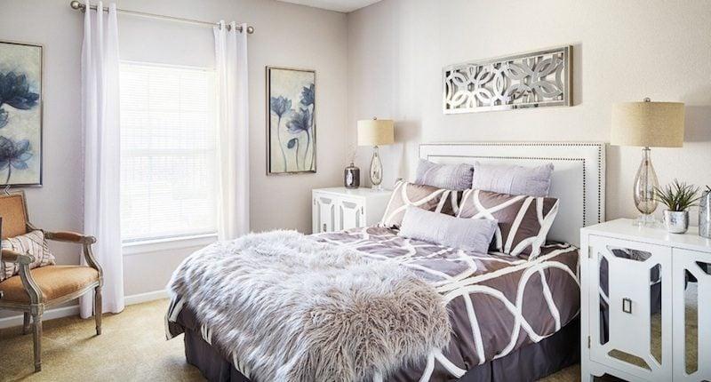 4materials texture1 Ý tưởng biến phòng ngủ gia chủ thêm tiện nghi và cá tính qpdesign