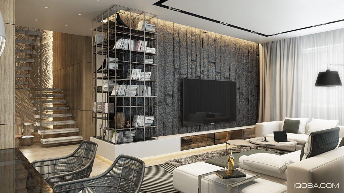 6bold living room textures Kết cấu hoàn hảo cho những bức tường phòng khách qpdesign