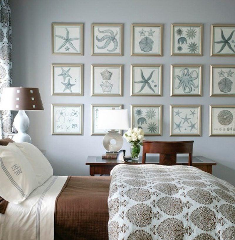 6gallery wall art Ý tưởng biến phòng ngủ gia chủ thêm tiện nghi và cá tính qpdesign