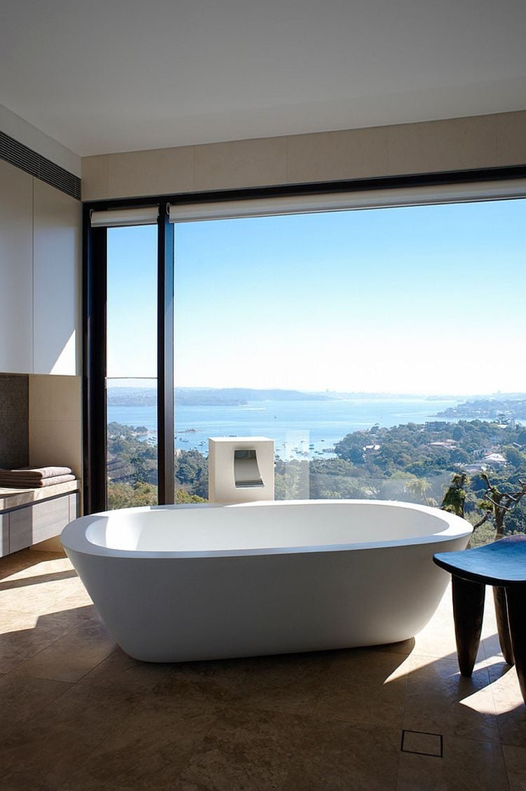 7Wonderful-framing-of-the-distant-view-turns-the-minimal-bathroom-into-a-relaxing-retreat
