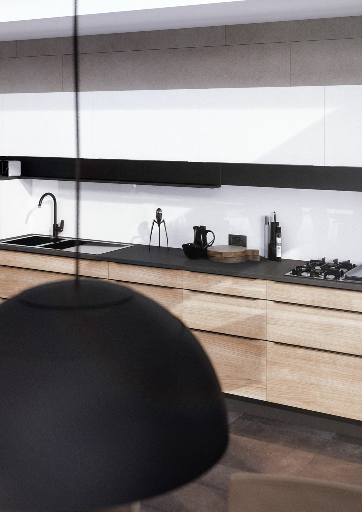 7black-and-wood-kitchen