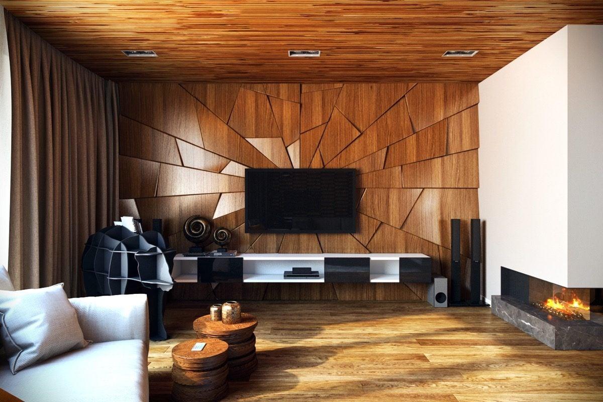 8artistic living room wall panels Kết cấu hoàn hảo cho những bức tường phòng khách qpdesign