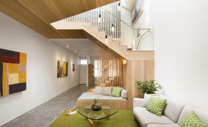 Ngôi nhà với thiết kế hiện đại và ấm cúm tại Úc