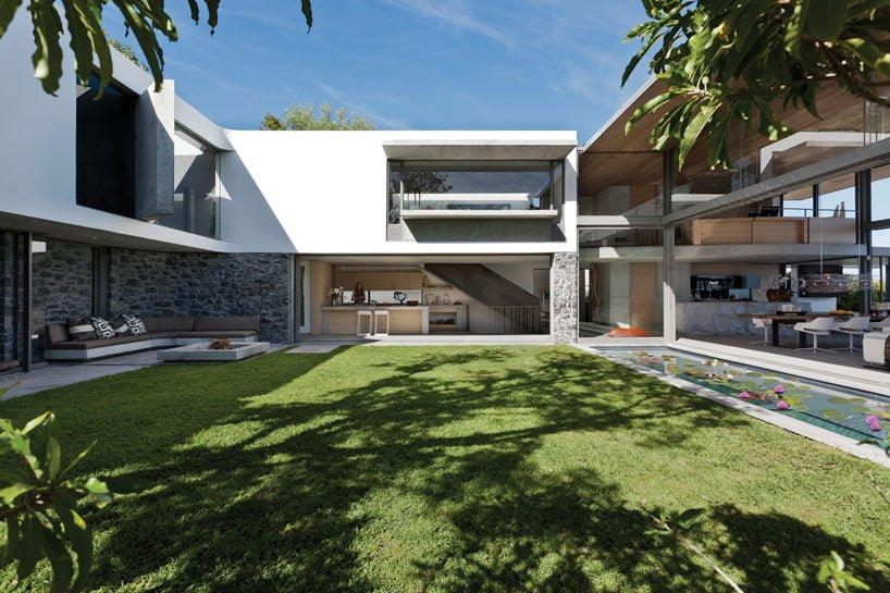 modern coastal house 2 Biệt thự biển nội thất đơn giản gần gũi với thiên nhiên qpdesign