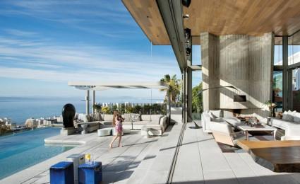 Biệt thự biển nội thất đơn giản gần gũi với thiên nhiên