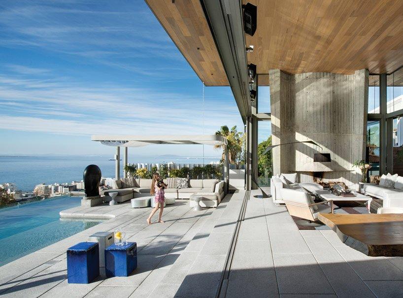 modern coastal house 4 Biệt thự biển nội thất đơn giản gần gũi với thiên nhiên qpdesign