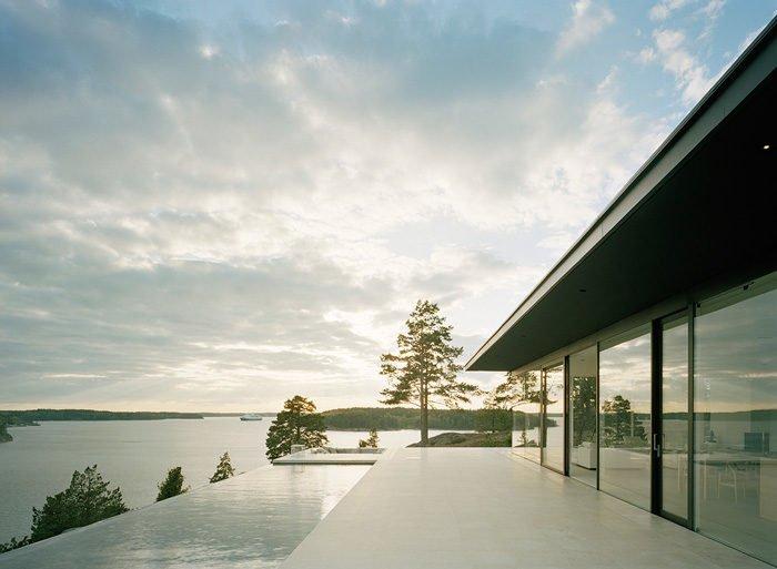 Biệt thự trên đảo nhìn ra biển Baltic khiến vạn người mê qpdesign