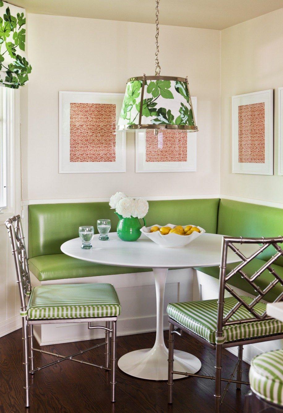 Декор и украшение кухонного стола. дизайн столов на кухне, ф.
