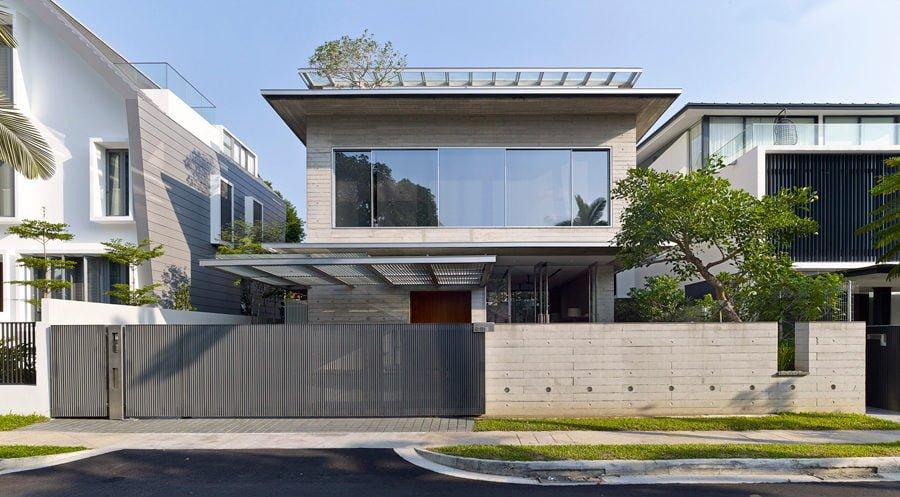 Ngôi nhà tại Singapore với không gian xanh dịu mát