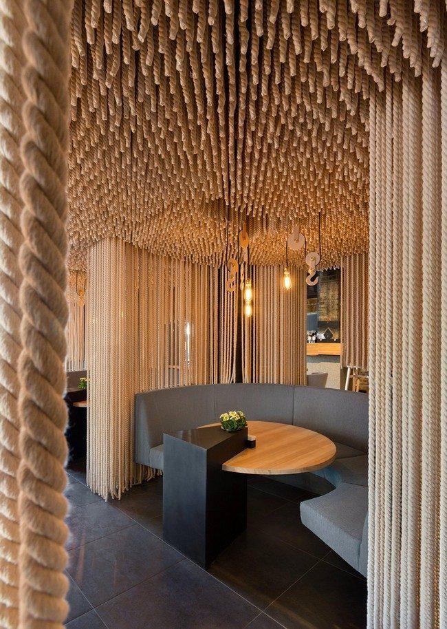 10Odessa Restaurant by YOD Design Lab 00009 Nhà hàng với không gian độc đáo trang trí bằng dây thừng qpdesign