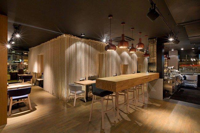 12Odessa Restaurant by YOD Design Lab 00011 Nhà hàng với không gian độc đáo trang trí bằng dây thừng qpdesign