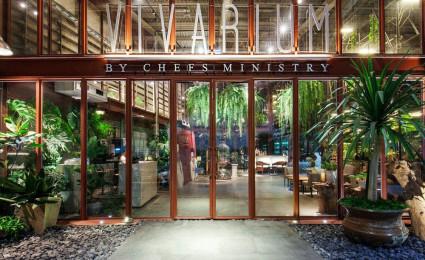 Nhà hàng Vivarium – Mang thiên nhiên và sự sống vào nhà kho cũ