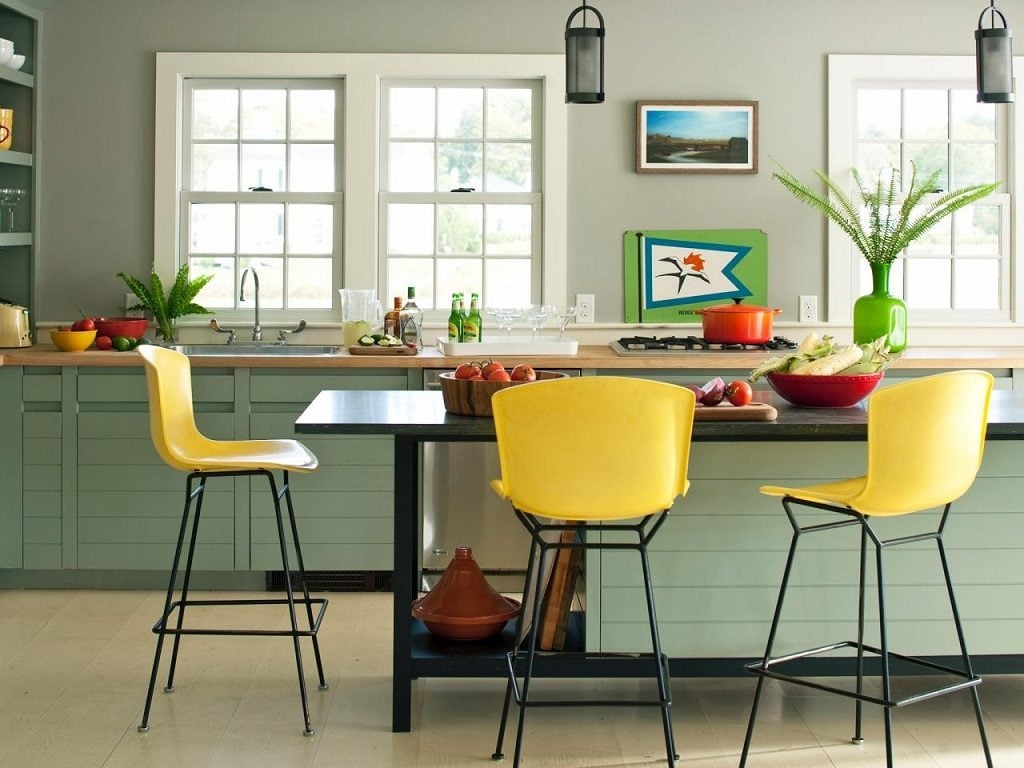 Unique Kitchen Colors Withal 25 Colorful Kitchens Kitchen Ideas Amp Design With Cabinets - cigicigi.co