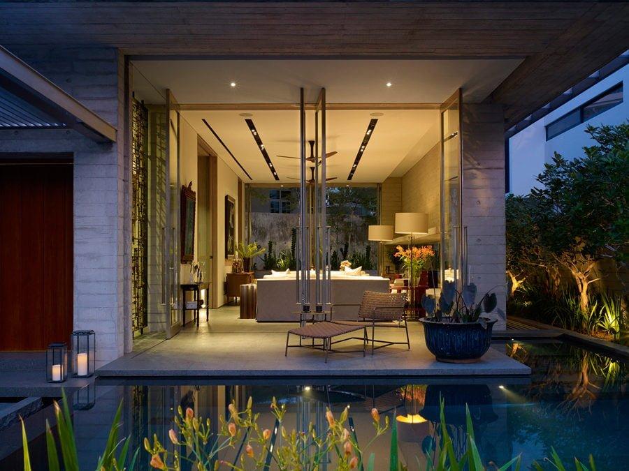 3 2 1449037560 1200x0 Ngôi nhà tại Singapore với không gian xanh dịu mát qpdesign